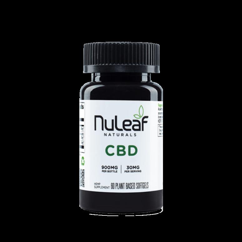 NuLeaf Naturals Full-Spectrum Hemp CBD Softgels