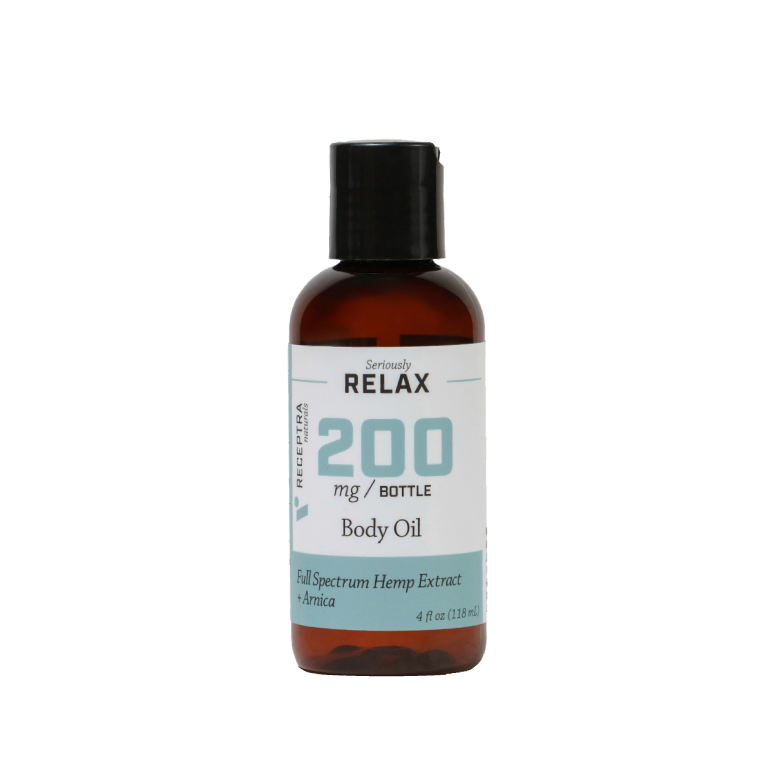 Receptra Seriously Relax + Arnica Body Oil