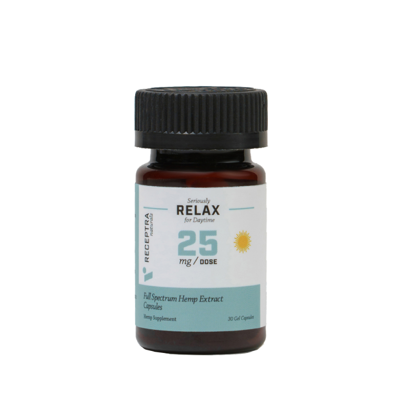 Receptra Seriously Relax Gel Capsules