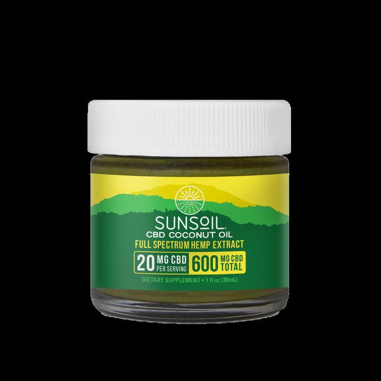 Sunsoil CBD Coconut Oil