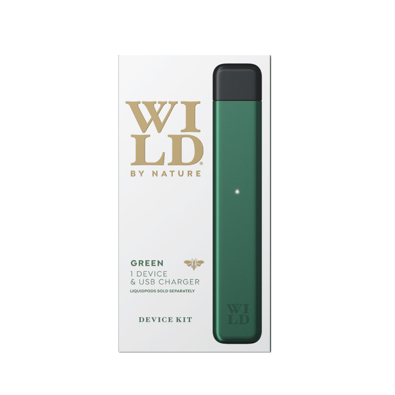 Wild by Nature Vape Device and Pods