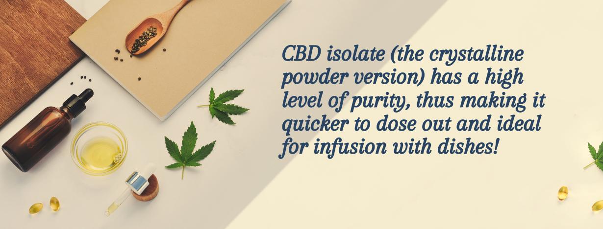 CBD Infused Recipe fact 1