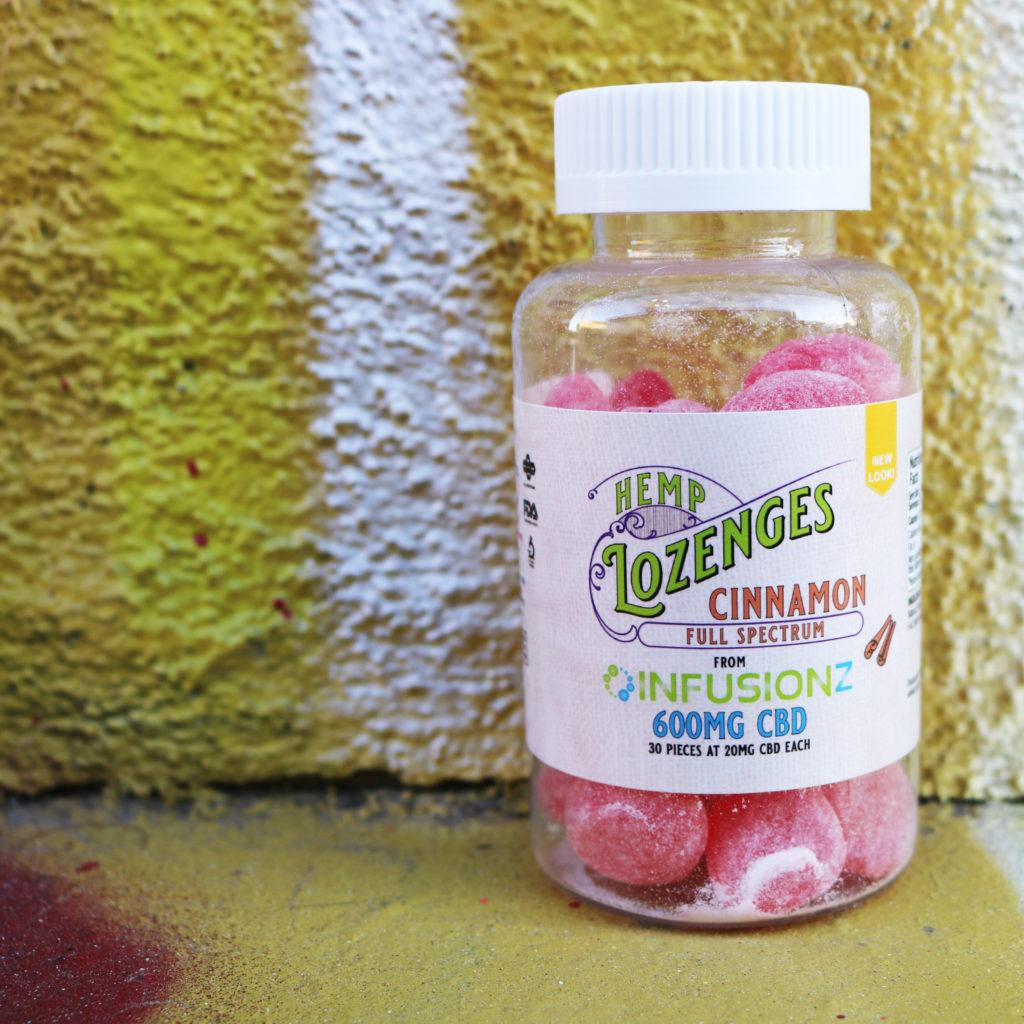 Infusionz Cinnamon CBD Hemp Lozenges