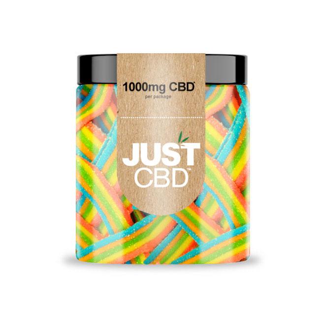 Just CBD Rainbow Ribbons