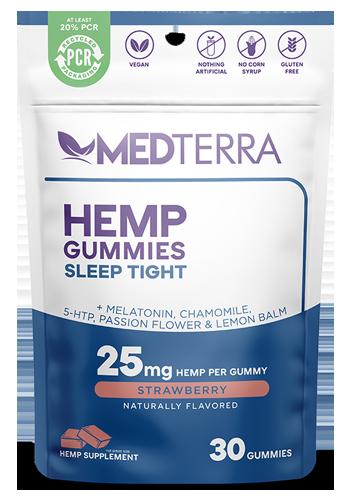 Medterra Sleep Tight Strawberry Gummies