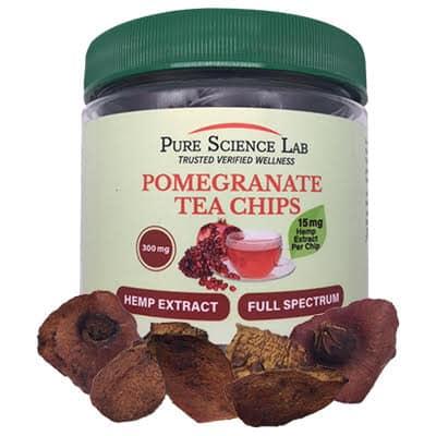 Pure Science Lab CBD and Pomegranate Tea