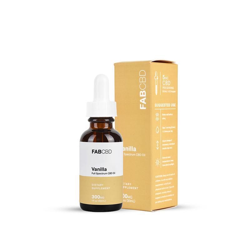 FABCBD Vanilla Oil