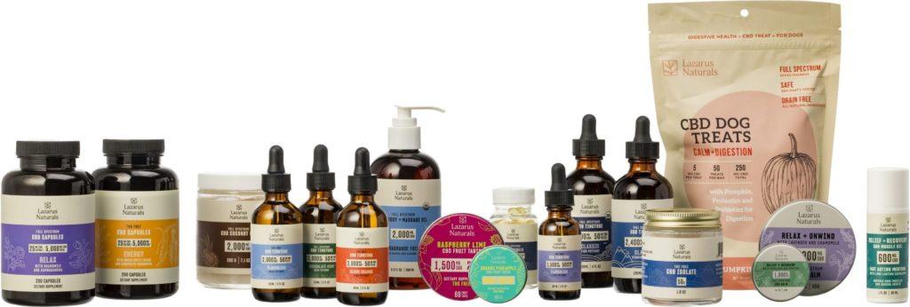 Lazarus Naturals Products